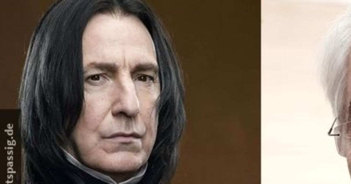 Severus Snape in real life!