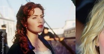 Kate from Titanic earlier and today