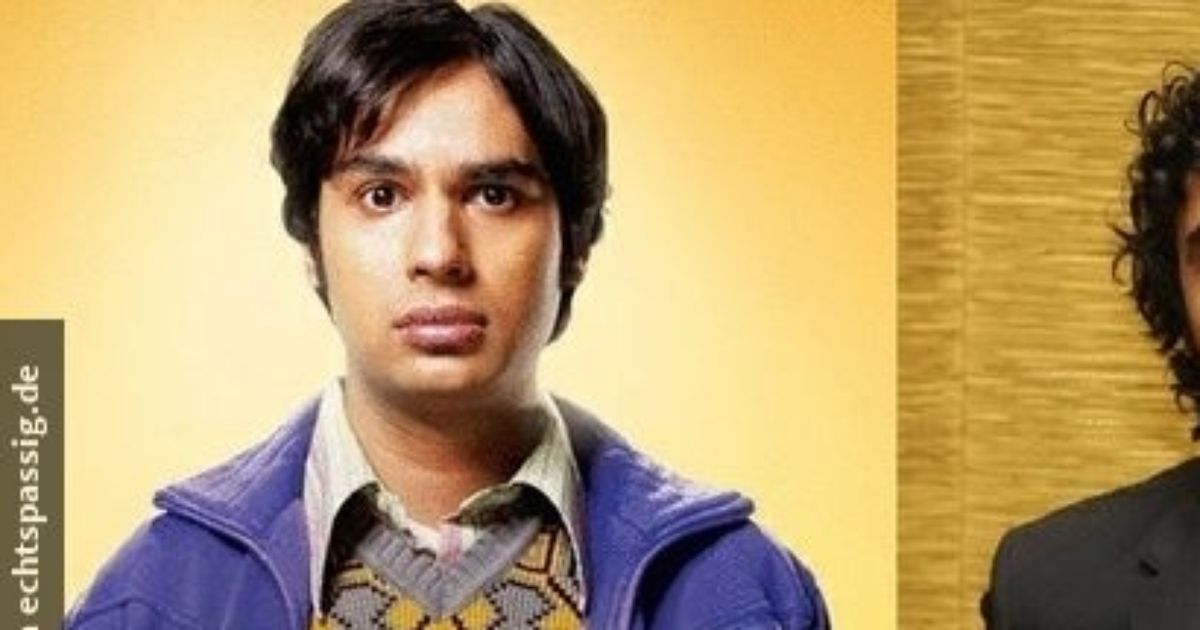 "Raj from ""The Big Bang Theory"" in real life"