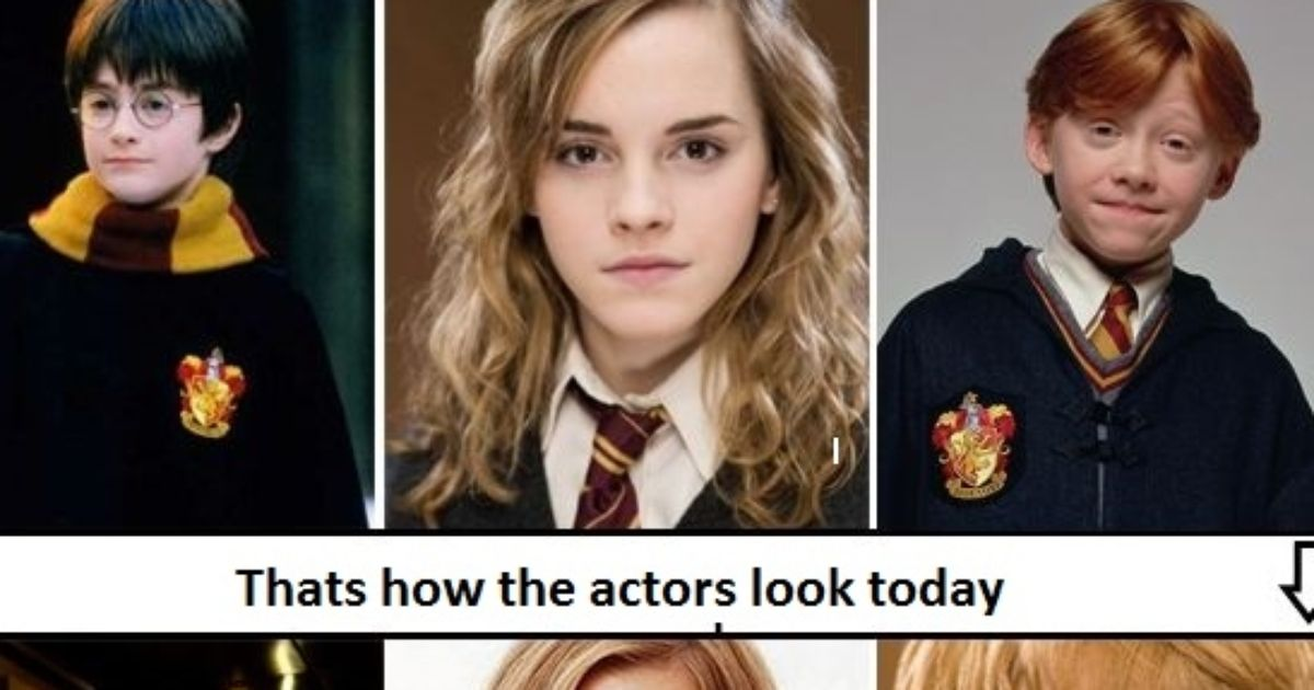 Thats how the Harry Potter actors look today!