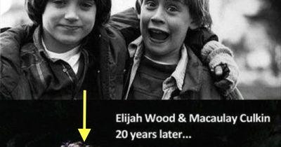 Elijah Wood & Macaulay Culkin 20 year later...