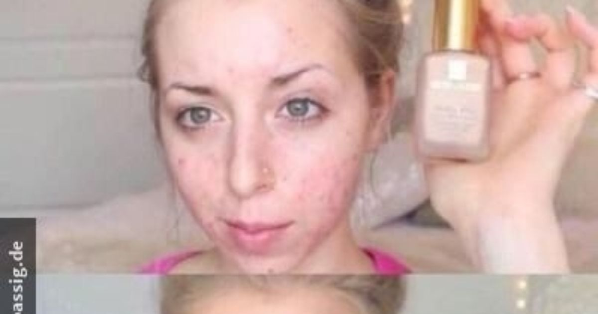 With and without make-up!