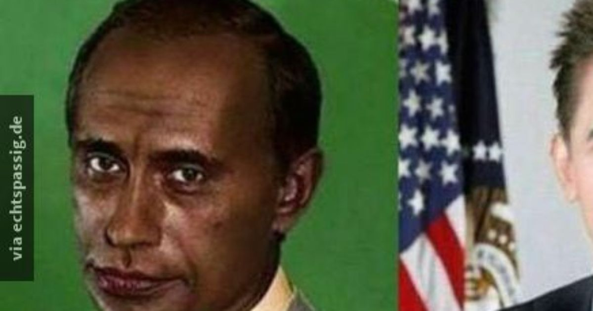 Thats how Obama would look like, if he was white! :D