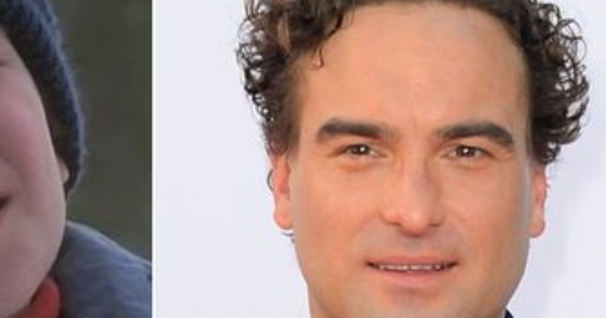 Thats how Leonard Hofstadter looked in the past
