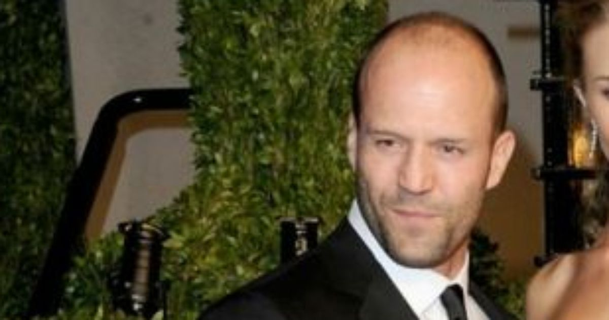 Jason Statham and his girlfriend!