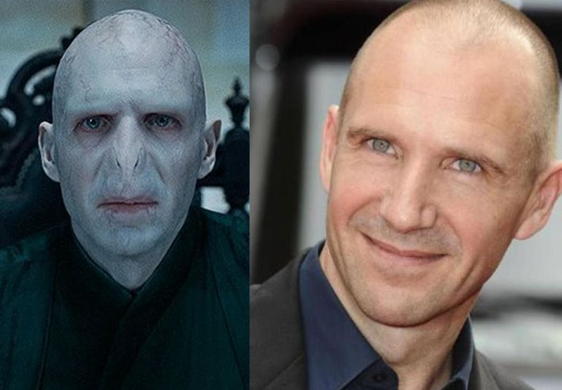 Thats how Voldemort looks in real!