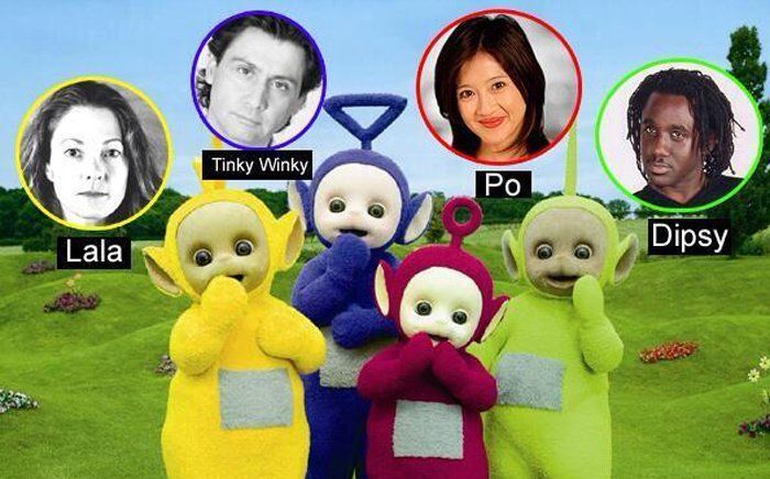 Thats how the Teletubbies looks like!